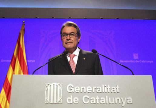 Artur Mas, ha afirmado este martes que la consulta soberanista del 9 de noviembre se puede celebrar «bajo tres parámetros, que son democracia, leyes y diálogo».