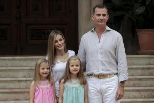Primer posado de la Familia Real en Marivent desde la proclamación de Felipe VI y Doña Letizia como Reyes de España.