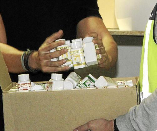 Al acusado se le imputa un delito de tráfico de anabolizantes.