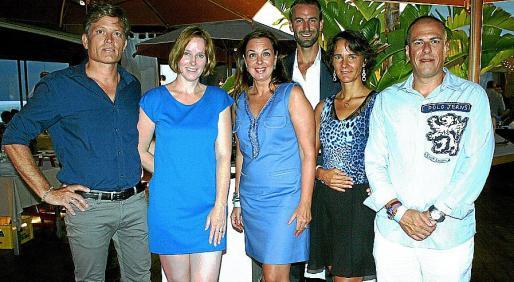 Oliver y Aimee Haak, Marilena Estarellas, Jan Diedrich, Rita Last y Miquel Bonet.