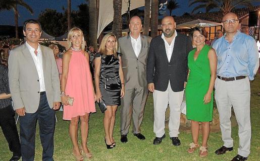Gabriel Company, Catalina Soler, Rosa Maria Bauzà, Bartomeu Bestard, Jaime Martínez, Margalida Durán y Alberto Pons.