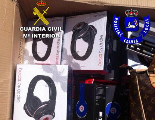 Parte del género intervenido por la Guardia Civil. g Foto: GUARDIA CIVIL
