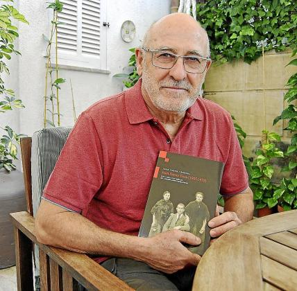 Josep Cortès descubrió a Sanxo investigando sobre la Guerra Civil. g Foto: L.G.