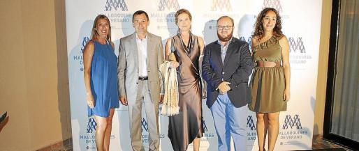 María Navalón, Toni Ferrer, Diandra Douglas, Tommy Ferragut y Vanessa Sánchez.
