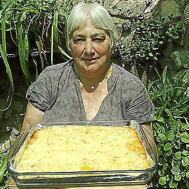 La lasaña de carne picada de María Eugenia Díaz-Munío Peña.