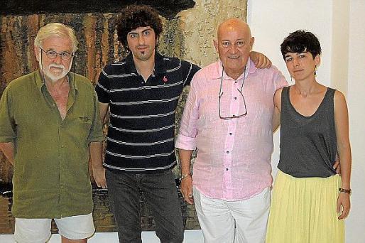 Toni Dionis, Pol Font, Joan Riera Ferrari y Cati Bennàssar.