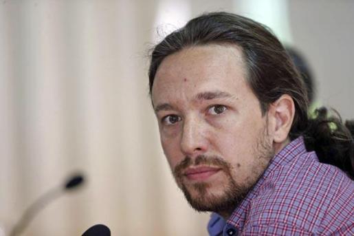 El eurodiputado electo y portavoz de Podemos, Pablo Iglesias.
