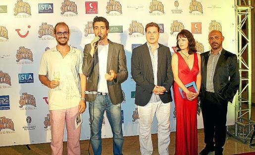 Carlos Miró, Pedro Victory, Klaus Hillebrecht, Julia ikonnikov y Tolo Crespí.