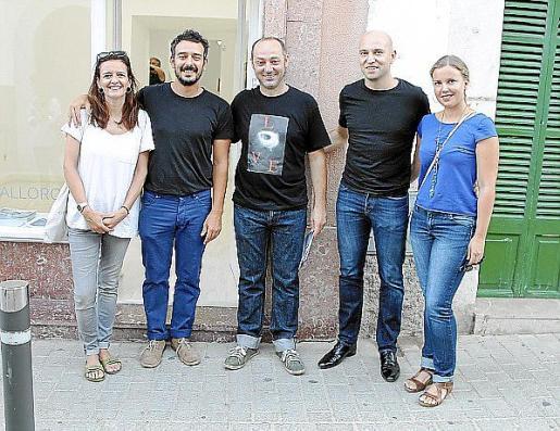 Isa y Eduard Bagur, Tomeu Simonet, Robert Ferrer y Aina Albo.