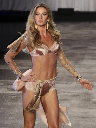 Gisele Bundchen, top model brasileña.