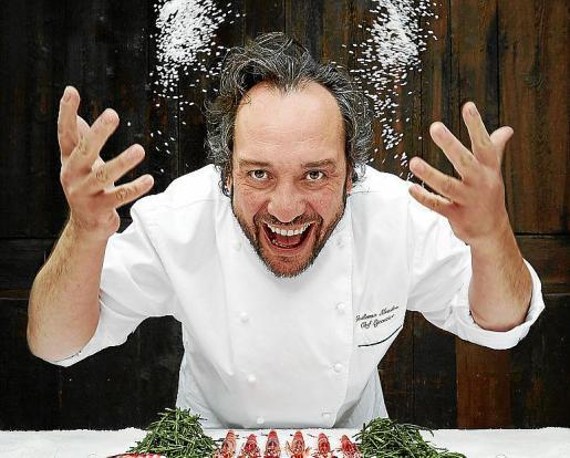 El chef Guillermo Méndez.
