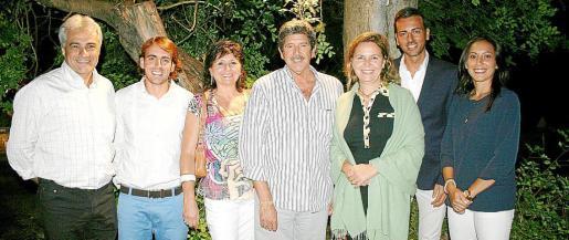 Jaume Isern, Juan Antonio Ramonell, Catalina Pericás, Albert Candela, María Salom, Javier Morente y Briguitte Yagüe.