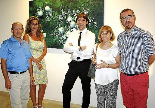 Jacinto Fernández, Rosa Vanrell, Fran Amengual, María Sanchís y Eduardo Sastre.