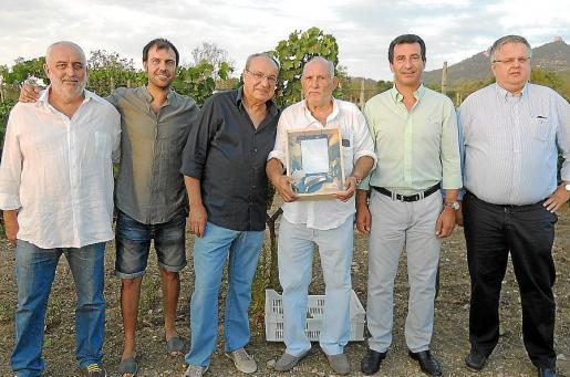Miquel Binimelis, Joan Joan, Antoni Bennàssar, Sebastià Manresa, Gabriel Company y Rafael Roig.