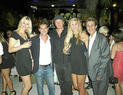 Lia Martine Lote, Chus Iglesias, Stefan Hollenberg, Gina Kim Tiede y José Moñino.