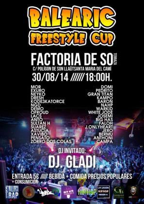 Cartel de la Balearic Freestyle Cup