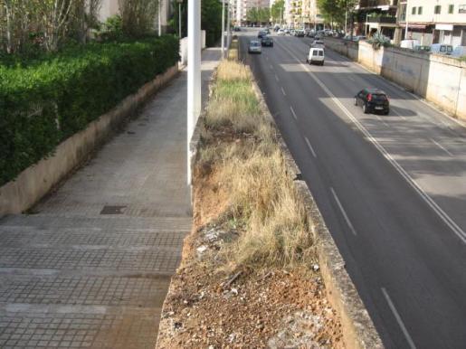 Limpieza de las calles por parte de Emaya.