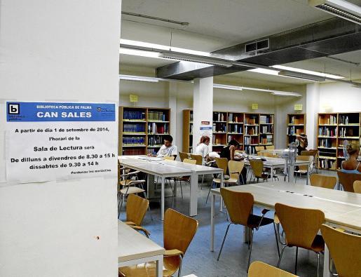 Palma cultura recortes biblioteca can salas fotos Teresa Ayuga
