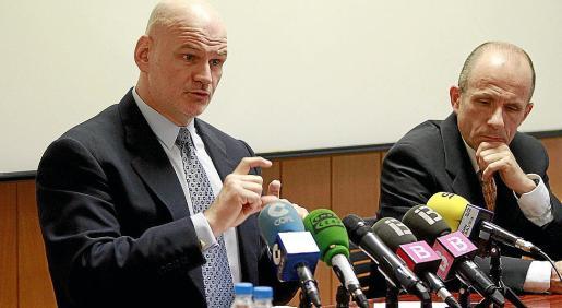 Francisco Kovacs y Mario Gestoso, presidente y director médico de la Fundación.