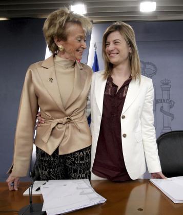 La vicepresidenta De la Vega y sobre todo la ministra Bibiana Aído suenan para dejar su cargo en el Gobierno.