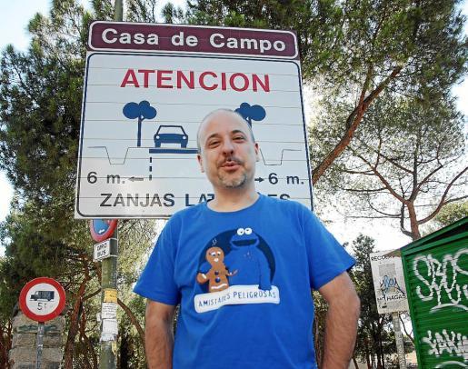 El músico y compositor Sergio de la Puente posó para esta entrevista en Madrid.