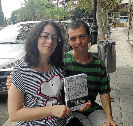 Magdalena Perelló y Andrés Álvarez, en Palma.