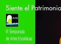 Cartel de Siente el Patrimonio.