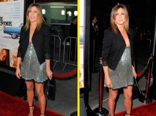 Jennifer Aniston, en la presentación de 'Life of crime'.