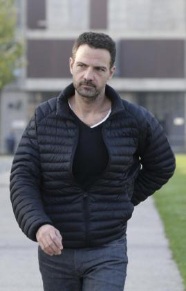 Jerome Kerviel, a su salida de la cárcel.