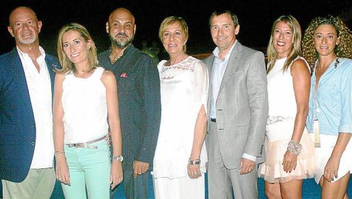 Miguel y Marta Rullán, Karim Gaafar, Celia Velasco, Toni Ferrer, María Navalón y Mercedes Fernández.