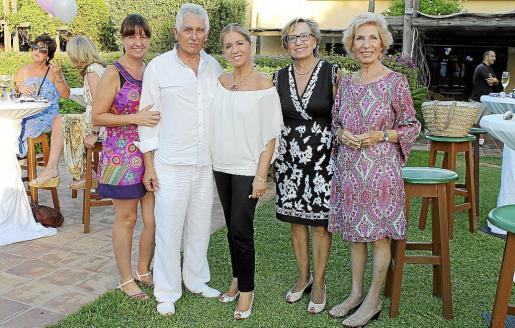 Cristina Martín, Jaume Coll, Teresa Martorell, Isabel Got y Rosa María Martín.
