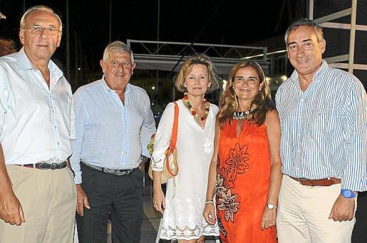 Àngel Jove, Joan Albertí, Ketty Magraner, Teresa Ribas y Carlos Simarro.