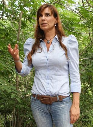 María Victoria Álvarez, la expareja de Jordi Pujol Ferrusola, durante unas declaraciones realizadas a Efe-TV.