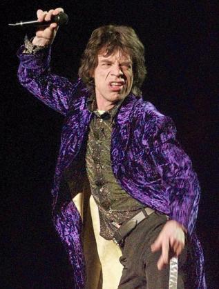 El vocalista de los Rolling Stones, Mick Jagger, durante una actuación del grupo británico.