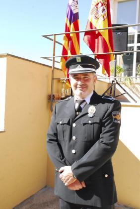 Antonio Ledesma, jefe de la Policía Local de Marratxí.