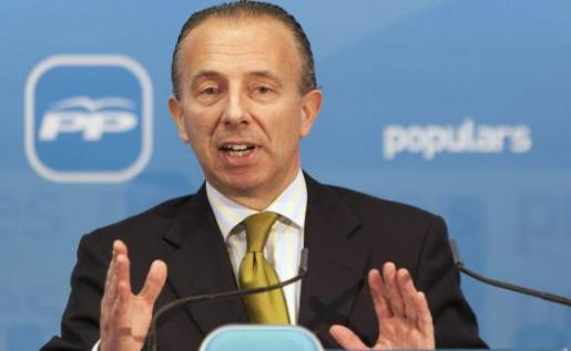 El exalcalde de Calvià y exconseller de Turisme, Carlos Delgado, durante un acto del Partido Popular.