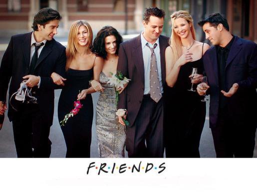 Foto promocional de la serie 'Friends'.