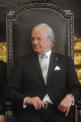 El rey de Suecia, Carlos Gustavo, en una imagen de archivo.