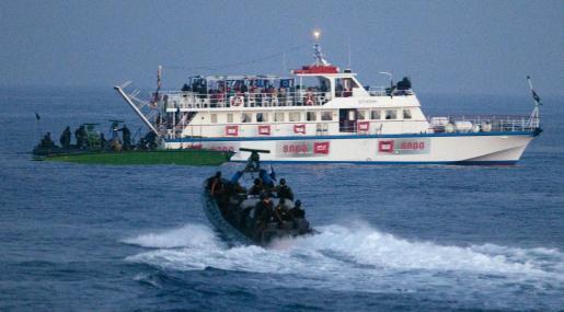 El ejército israelí asaltó hace unas semanas la Flotilla de la Libertad, que llevaba ayuda humanitaria a Gaza.