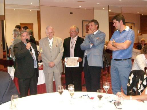 José Pascual, Andreu Martí, Juan Mesquida, Gabriel Matas y Jaume Bauzà.