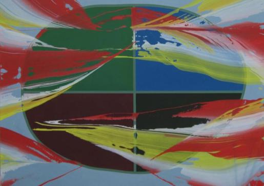 Una de las obras que se peude ver en el XX aniversario de la galería Maior Palma.