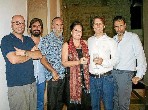 Avelino Sala, Fernando Gómez de la Cuesta, Javier Vallhonrat, Pilar Ribal, Simon Zabell y Pedro Vidal.