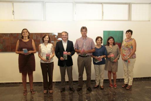 Autoridades y repesentantes de los museos durante la presentación del programa de actividades.