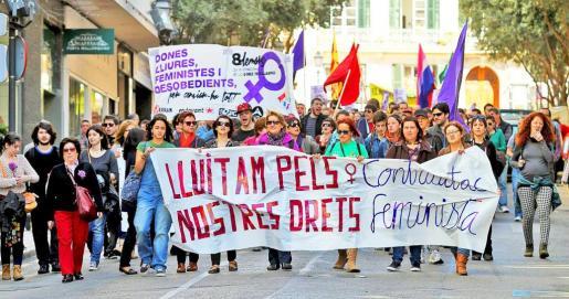 Imagen de archivo de una protesta contra la reforma de la Ley del aborto.