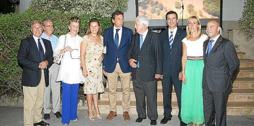 Fernando Alzamora, Fernando Rotger, Rosa María Regí, María Salom, Mateo Isern, Gabriel Cañellas, Gabriel Company, Catalina Soler y Antonio Gómez.
