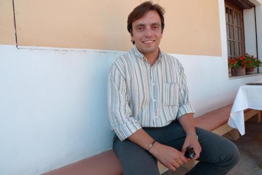 Francesc Miralles, actual alcalde de Algaida.