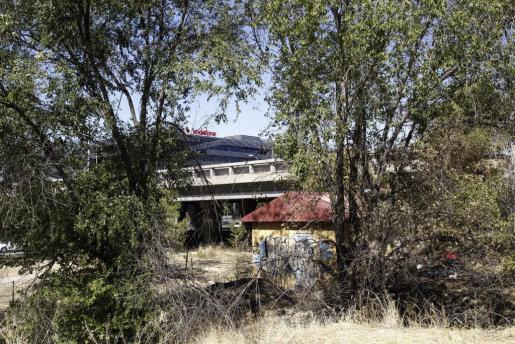 Lugar cercano al barrio de Hortaleza donde fue encontrada una de las niñas raptadas por el pederasta de Ciudad Lineal.
