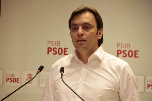 Francesc Miralles, alcalde de Algaida y candidato del PSIB- PSOE a presidir el Consell de Mallorca.