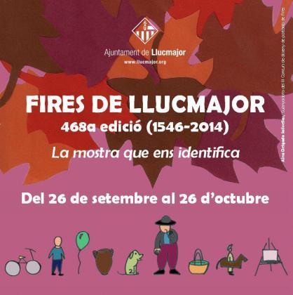 Cartel de las Fires de Llucmajor.