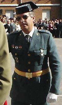 Antonio Tejero Díez, coronel de la Guardia Civil e hijo del golpista Tejero.